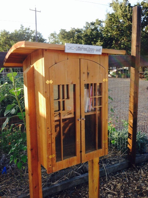 New Little Free Library now open at Lafayette Community Garden