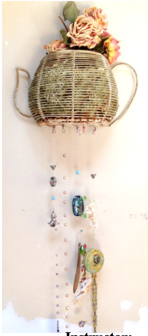 Personalize a wind chime. Collaborate with Mom or celebrate her with some music from the heart..